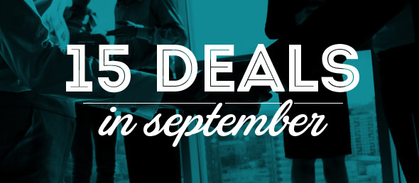 GCBC Funds 15 Deals in September