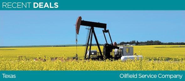 GCBC PROVIDES A $3MM WORKING CAPITAL FACILITY TO TEXAS BASED OILFIELD SERVICE COMPANY