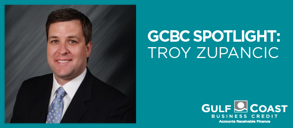 TROY ZUPANCIC CONTRIBUTES TO GCBC'S GROWTH
