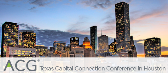 GCBC ATTENDS 11TH ANNUAL ACG TEXAS CAPITAL CONNECTION CONFERENCE IN HOUSTON