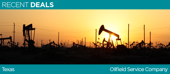 GCBC PROVIDES A $500M WORKING CAPITAL FACILITY TO TEXAS BASED OILFIELD SERVICE COMPANY