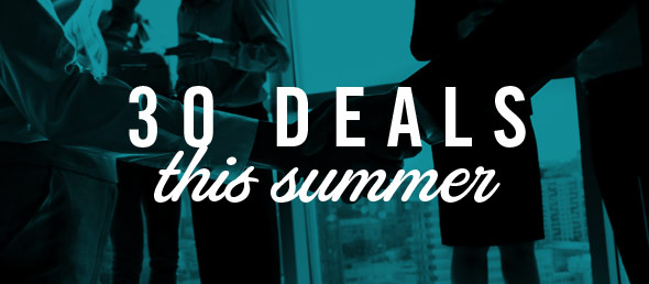 GCBC Closes 30 Hot Deals this Summer