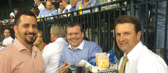 TOP REFERRAL SOURCES ENJOY HOUSTON ASTROS BASEBALL GAME