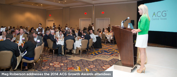 2014 ACG GROWTH AWARD WINNERS & EO ROCKSTAR ENTREPRENEUR OF THE YEAR ANNOUNCED