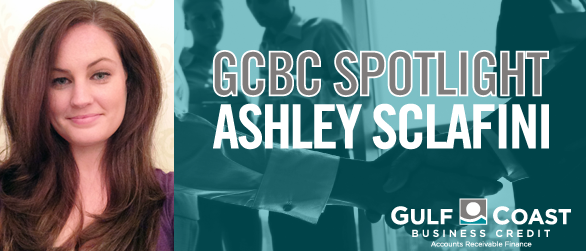 GCBC'S ASHLEY SCLAFINI MANAGES PORTFOLIO OF 25 CLIENTS