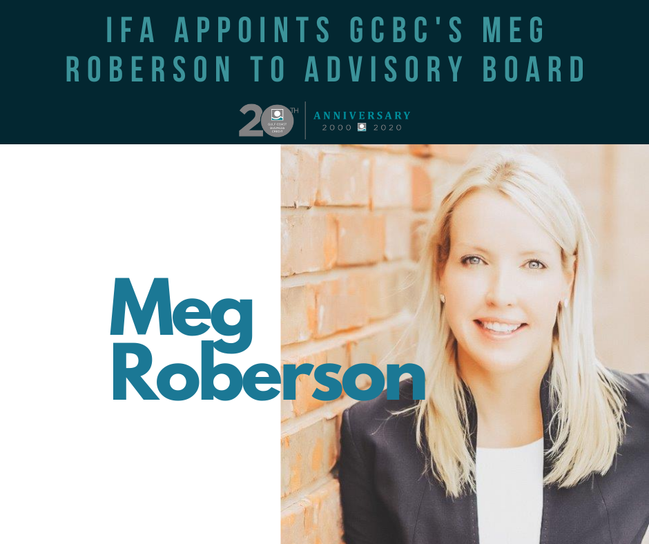 IFA Appoints GCBC's Meg Roberson to Advisory Board
