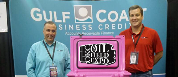 GCBC'S STUART WRBA & TROY ZUPANCIC ATTEND OKC OILFIELD EXPO